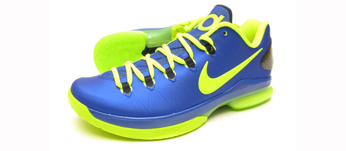 DISEADAS PARA EL CONTROL FINAL. Nike KD V Elite Hyper Blue. 