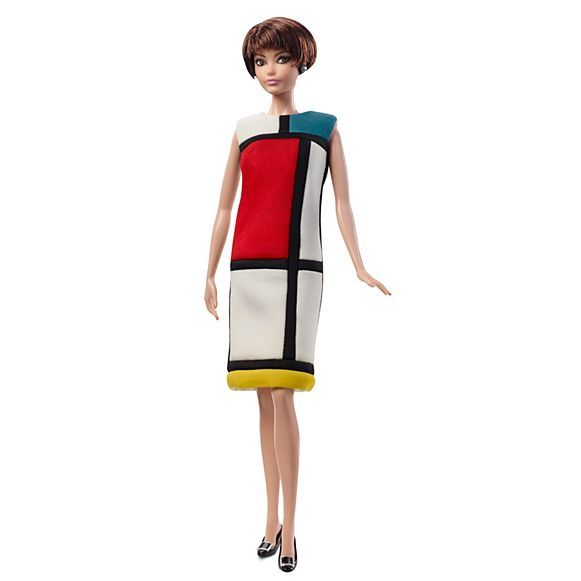 BARBIE MONDRIAN YVES SAINT LAURENT