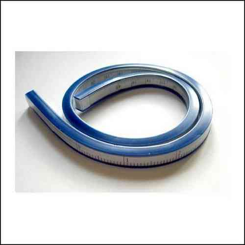 Regla Flexible disponible en 30/40/50 cm.