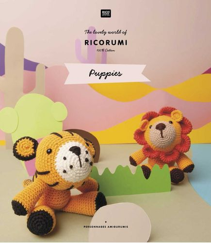 Rico Design - Livre Puppies (Ricorumi)