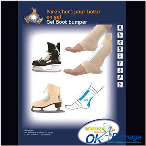 Protection  gel coup pied + talon ( Boot Bumper)