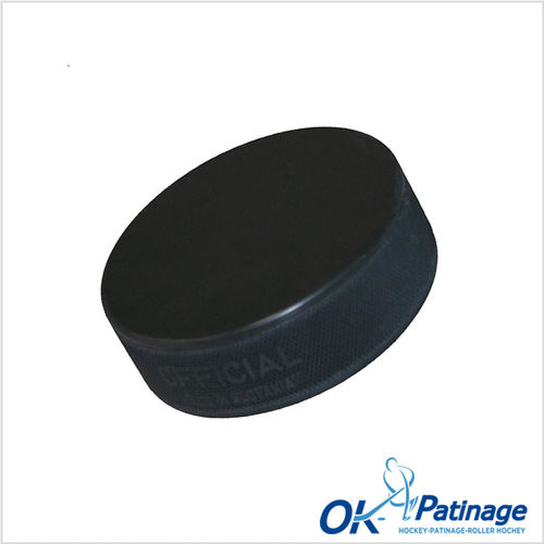 Palet hockey officiel noir
