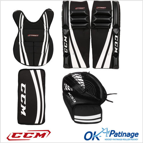 CCM kit gardien street hockey