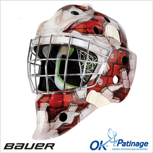 Bauer masque NME4 Wall Red