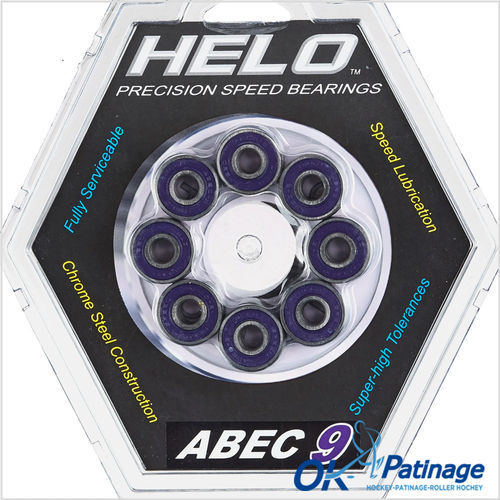 Helo roulements Abec 9