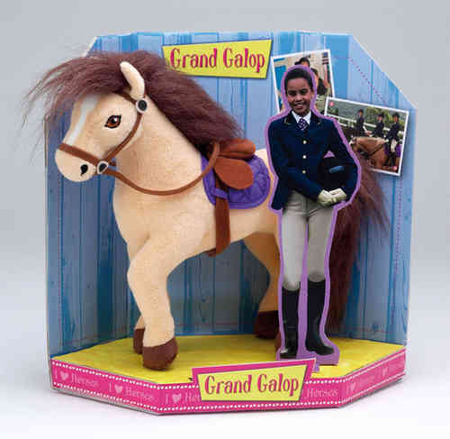Peluche Grand Galop  starlight / carole  27 cm
