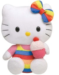 Peluche Hello Kitty Cupcake 15 cm