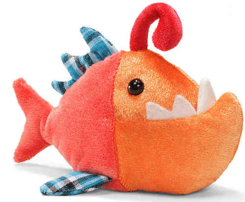 Peluche Gund Poisson Orange 14 cm