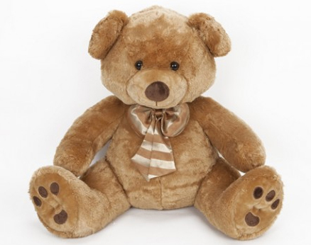 Peluche ours grande taille 125 cm Goldie Bear