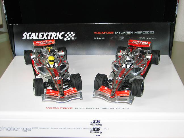 MC LAREN MERCEDES MP4/22 #1 #2