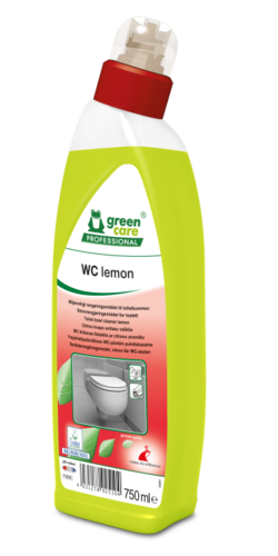 GREEN CARE WC Lemon 10 x 750 ml