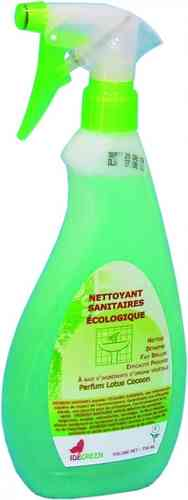 IDE GREEN Nettoyant Surfaces Sanitaires 750 ml