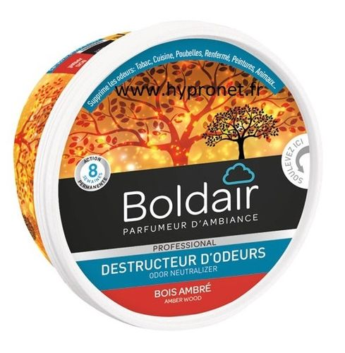 Gel Destructeur d'odeur BolDair Ambre 300GR