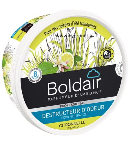 Gel Destructeur d'odeur BolDair Citronnelle 300GR