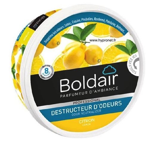 BolDair Citron Gel Destructeur d'odeur 300 gr