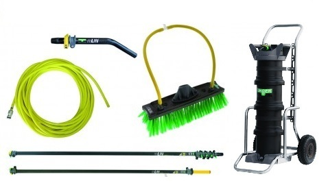 Kit PRO kit 10 metres nLite Connect CARBONE - Unger