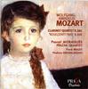 W. A. MOZART (1756-1791) : CHAMBER WORKS WITH CLARINET - Prazak Quartet, Pascale Moragues (clarinet)