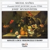Josef MYSLIVECEK (1737-1781) : SONATAS (6) FOR TWO CELLI & CONTINUO - M. Kanka, F. Host (cellos)