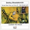 Dimitri SHOSTAKOVICH (1906-1975) : PIANO TRIO No.1 & 2 Opp 8, 67 - CELLO SONATA Op 40 Guarneri Trio