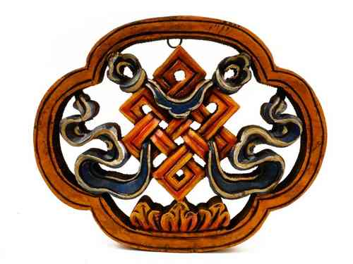 Wooden wall hanging - endless knot
