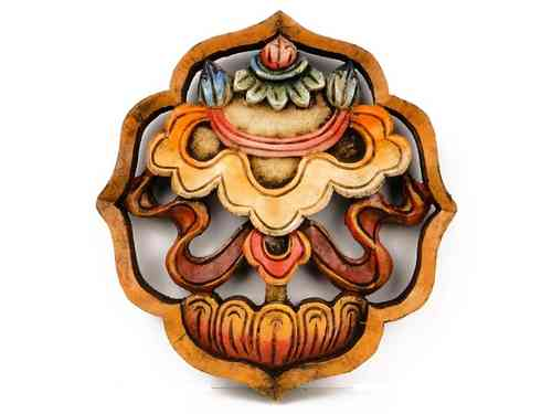 Wooden wall hanging - the precious Umbrella.