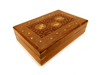 Wooden box inlaid