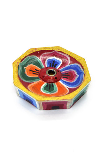 Incense burner lotus flower