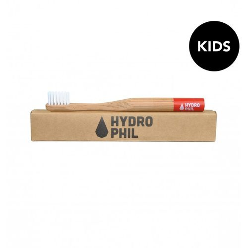 Sustainable kids toothbrush Red // extra-soft