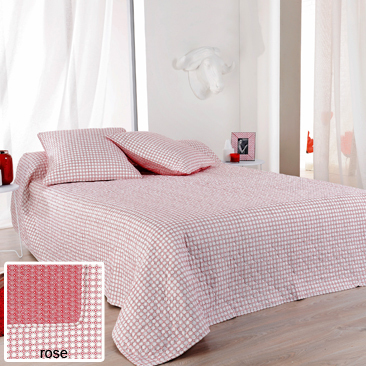 Alicante rose 67 par Linder - Plaid 150x150cm