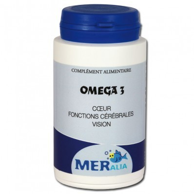 OMEGA 3 coeur, fonctions cérébrales, vision 90 cps