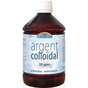 ARGENT COLLOIDALE 20 PPM 500 ml
