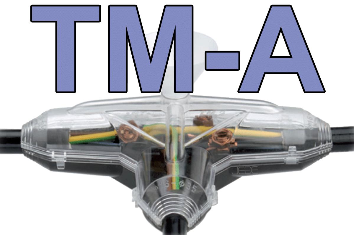 Boîte de dérivation Résine en T, TM-A1