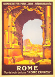 Affiche  Rome   PLM  1921   Roger Broders