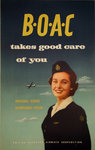 Affiche  BOAC  Takes Good Care Of You  1954  Anonyme