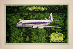 Affiche Vickers Viscount   Air France   1953  Lucien Boucher
