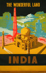 Affiche  India  The Wonderfull Land   1958  Annonyme