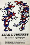 Affiche    Dubuffet Jean  Le Cabinet Logologique Centre National D'Art Contemporain 1970