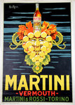 Affiche Martini   Vermouth   San Marco Reedition 1960