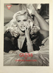 Affiche  Anna Nicole Smith pour  Guess  Phothographe  Daniela  Federici The Manipulator  1993