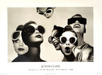 Affiche  Ladies in Sunglasses  By John  Chan  1986  Details  Magazine  New York