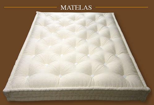 Matelas pure laine fabricant de matelas de laine couette laine surmatelas sommier futon - Taille couette matelas 160x200 ...