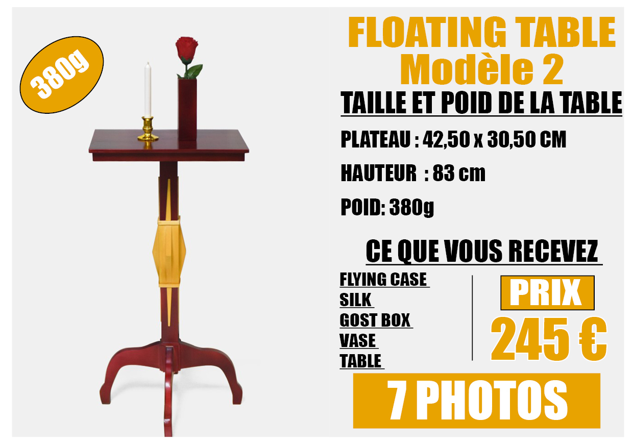 FLOATING TABLE model 2