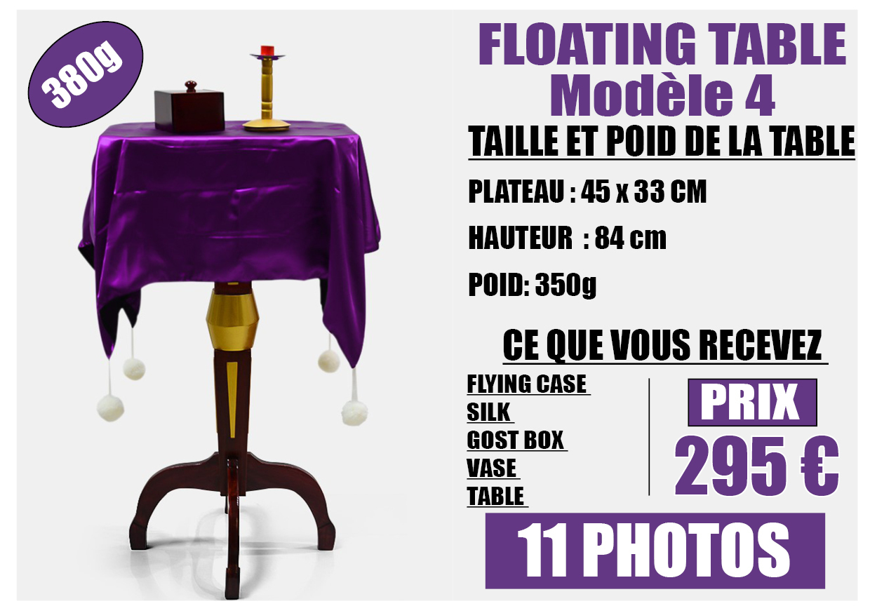 FLOATING TABLE model 4