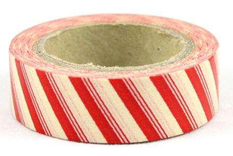 Washi tape - Red belts
