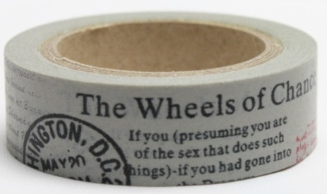 Washi tape - THe weels of change