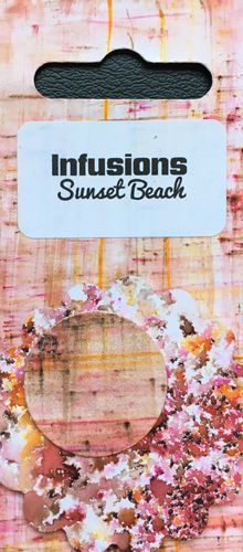 Sunset Beach - Infusions Dye PaperArtsy