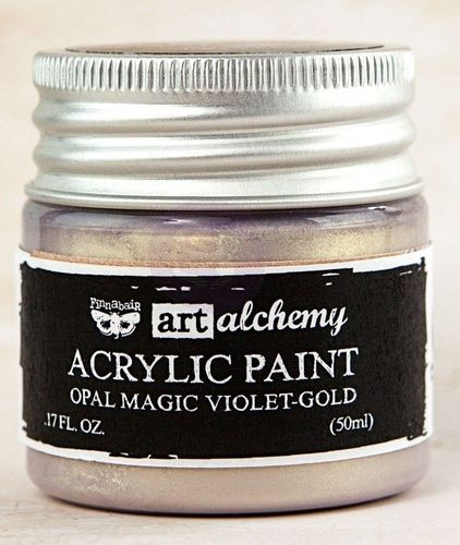 Violet Gold - Acrylic Paint Opal Magic Prima Marketing