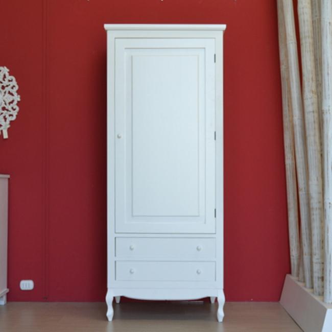 Armadio Shabby Chic Prezzi.Dettagli Su Armadio Provenzale Shabby Chic Legno Bianco Guardaroba Romantico Francese