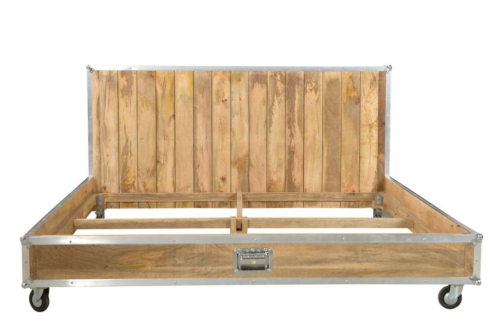 Letto industrial legno mango