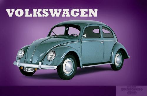 Locandina Latta 30X40 Volkswagen Cod.QUBB23 - Primart